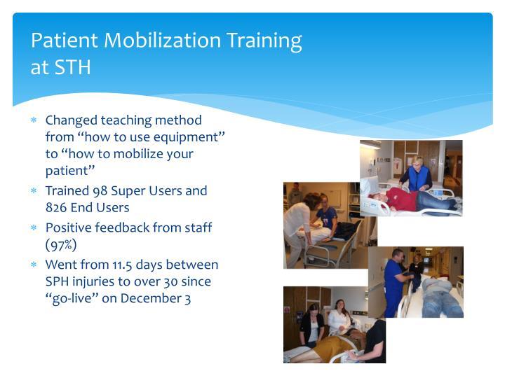 Patient Mobilization Training