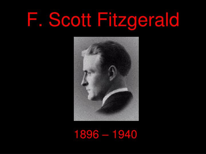 a biography of f scott fitzgerald In the 1920s american writers f scott fitzgerald and ernest hemingway were living in paris amongst a group of like-minded artists known as 'the lost generation the young men were friends, sharing a love of literature and drink, though from the outside they appeared very different.