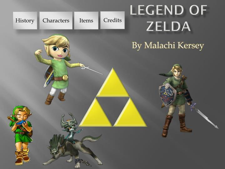 Ppt legend of zelda powerpoint presentation id1860299 credits toneelgroepblik Choice Image