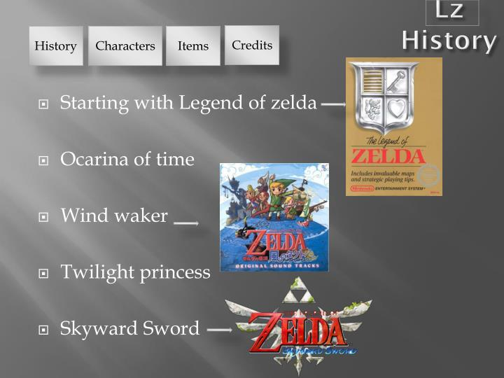 Ppt legend of zelda powerpoint presentation id1860299 lz history toneelgroepblik Choice Image