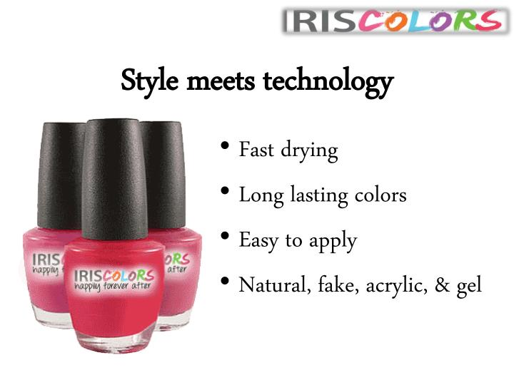 Style meets technology