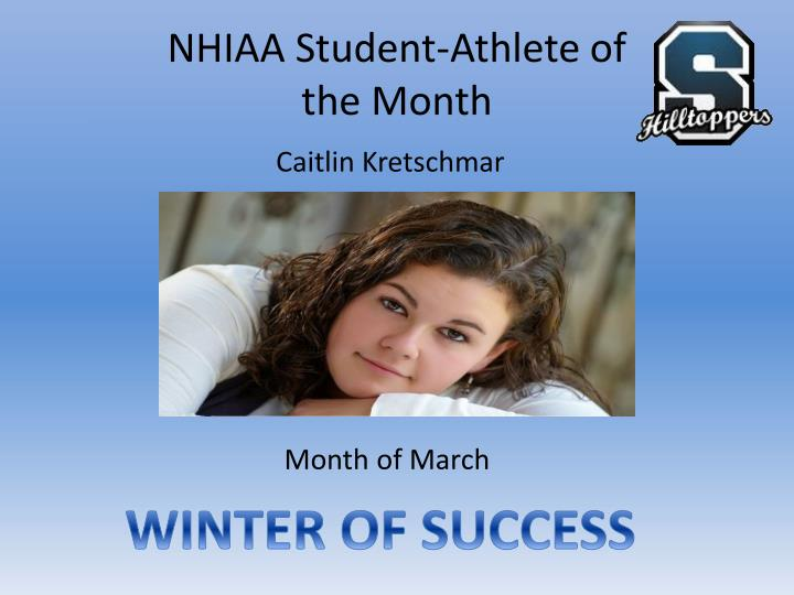NHIAA Student-Athlete of