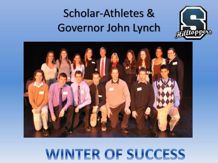 Scholar athletes governor john lynch