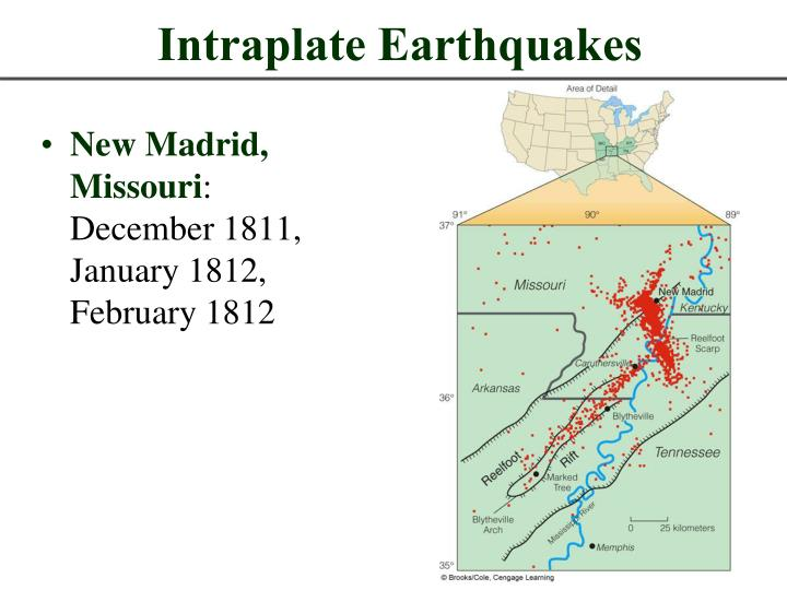 intraplate earthquakes n.