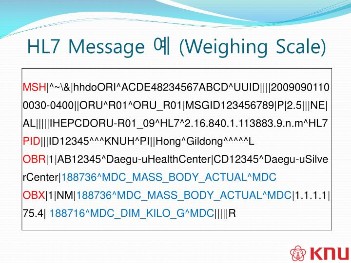 HL7 Message