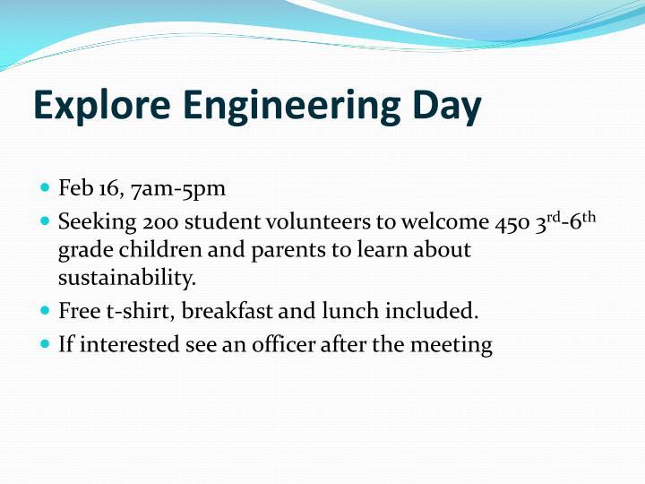 Explore Engineering Day