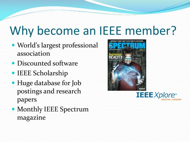 Why become an IEEE member?