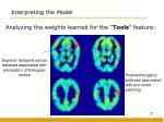 interpreting the model2