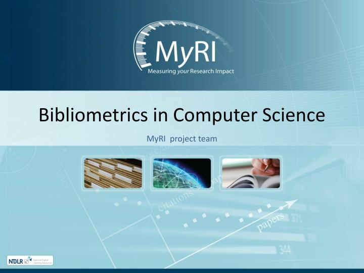 computer science paper citation Molecular biology and genetics, immunology and neuroscience are the areas with the highest average citation rates, whereas computer sciences and mathematics exhibit the lowest averages in analysing the research impact of individuals and their papers, the number of citations earned should be compared with baseline measures.