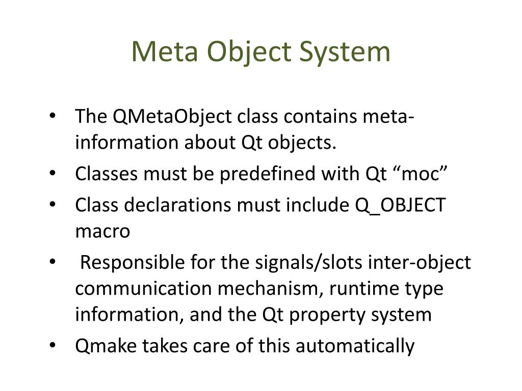 PPT - Qt Framework PowerPoint Presentation - ID:1861203