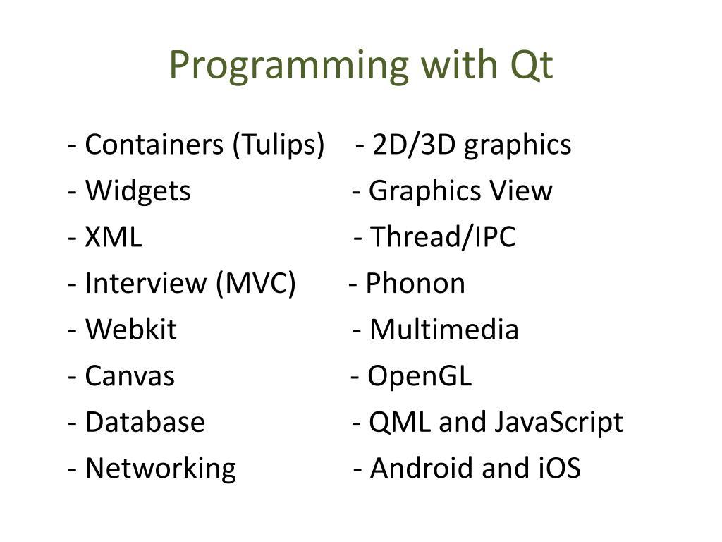 Webkit qml
