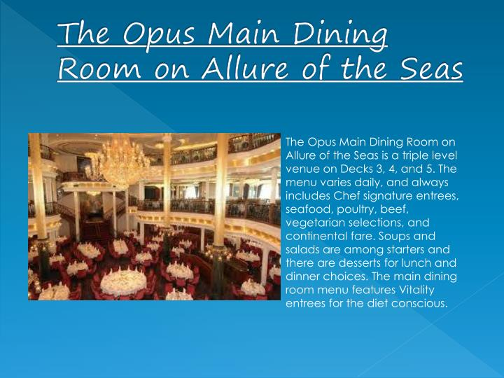 Ppt Royal Caribbean Allure Of The Seas Powerpoint