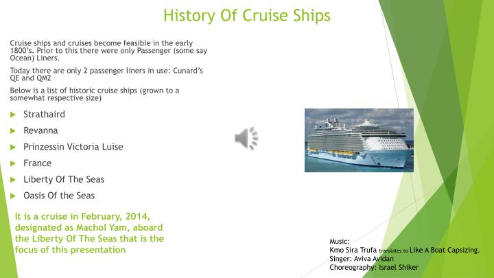 PPT History Of Cruise Ships PowerPoint Presentation ID - Cruise ship list by size