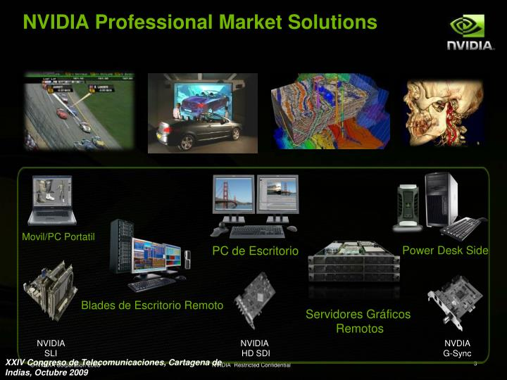 Nvidia professional market solutions