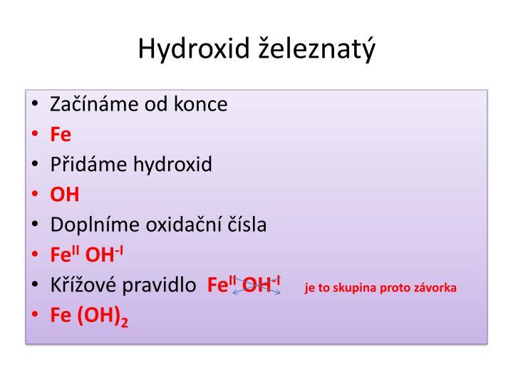 Hydroxid železnatý
