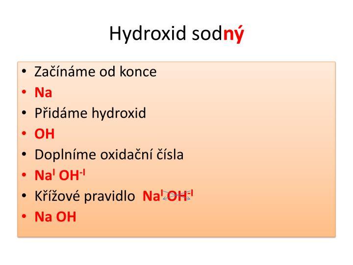 Hydroxid sod
