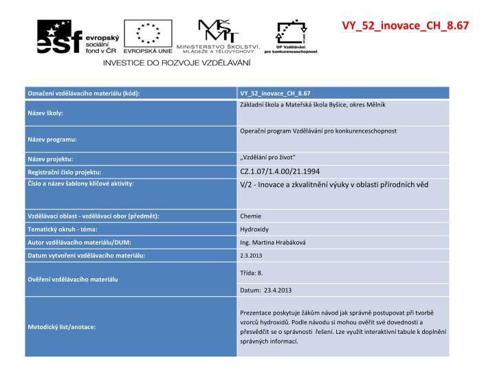 VY_52_inovace_CH_8.67