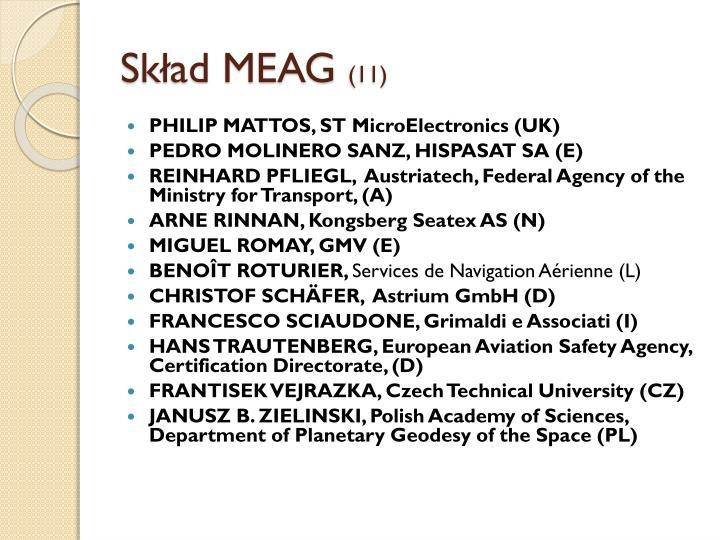 Skład MEAG