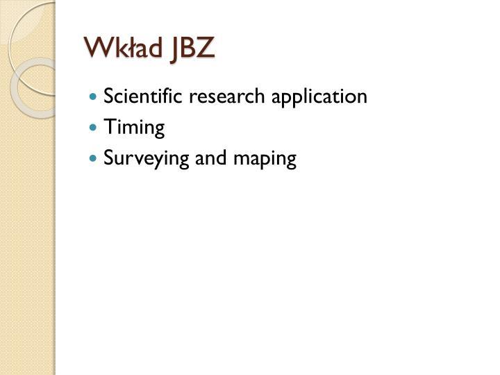Wkład JBZ