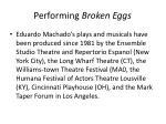 performing broken eggs