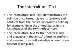 the intercultural text