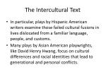 the intercultural text1