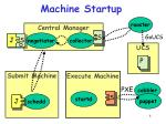 machine startup