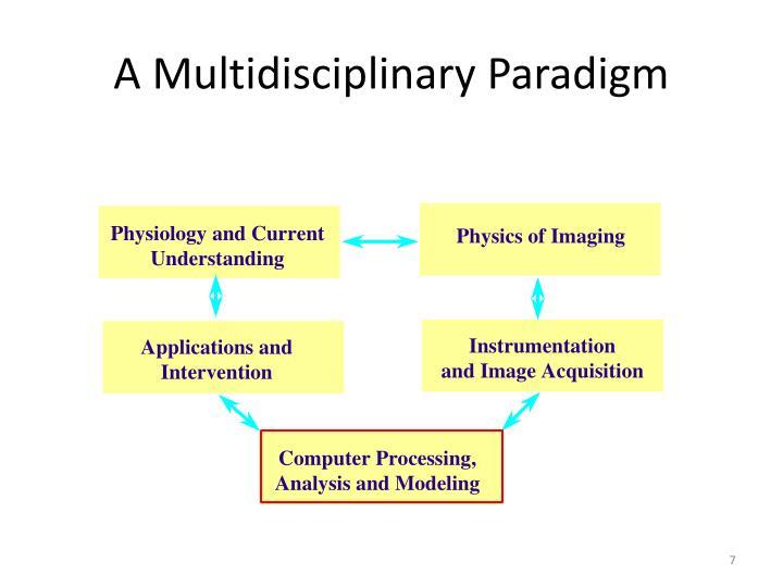 A Multidisciplinary Paradigm