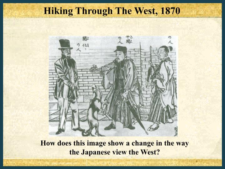 Hiking Through The West, 1870