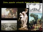 some popular artworks based on rococo