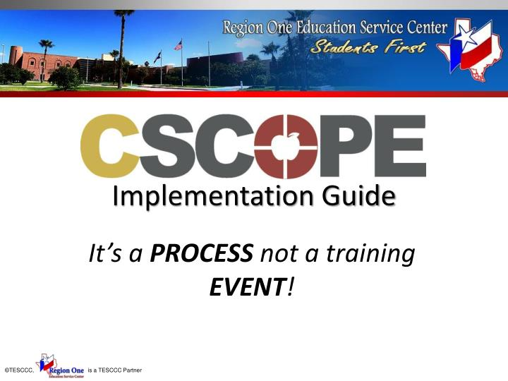 implementation guide n.