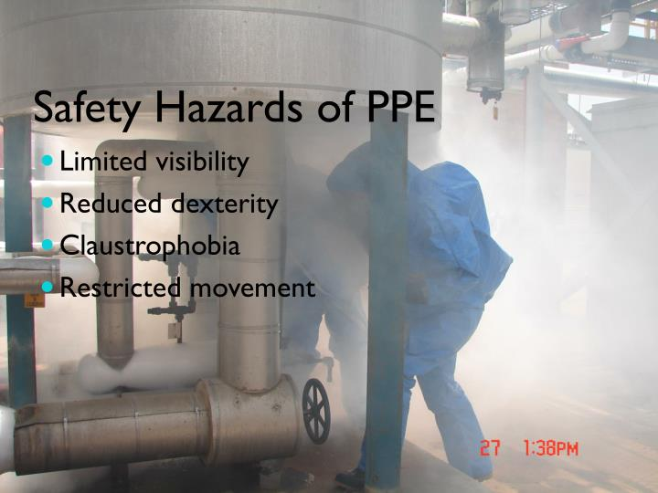 Safety Hazards of PPE