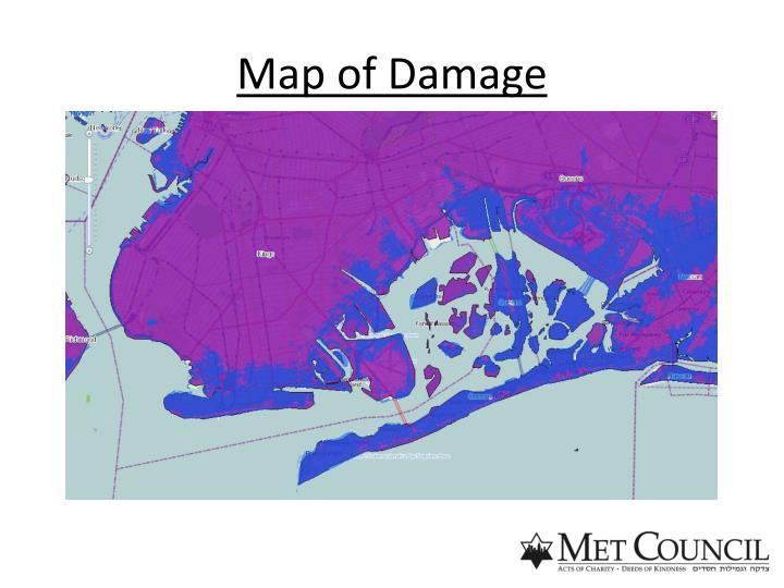 Map of Damage