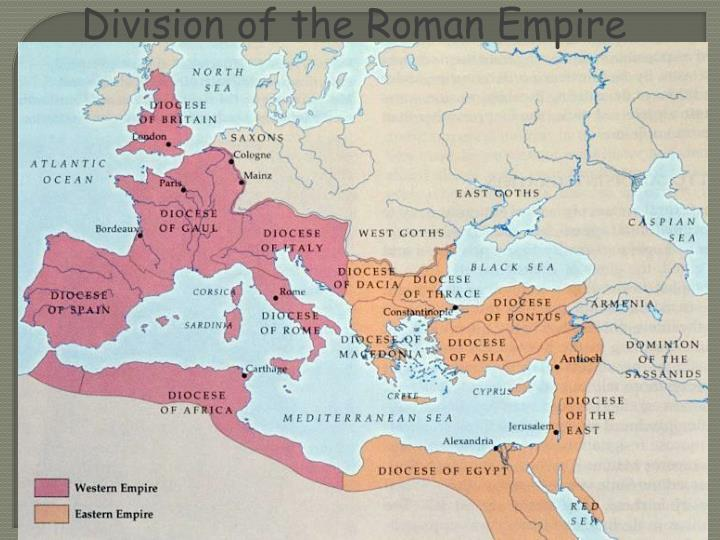 Division of the Roman Empire