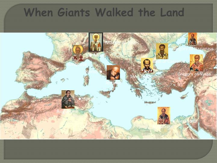 When Giants Walked the Land