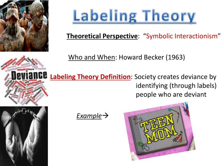 what does labeling theory mean