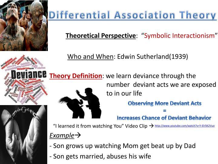Ppt Theories Of Deviance Powerpoint Presentation Id1864895