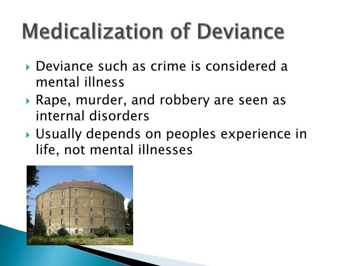 Medicalization of Deviance