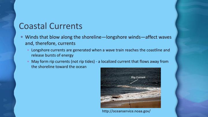 Coastal Currents