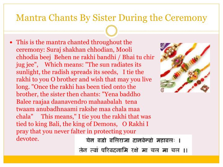 Mantra Chants By Sister During the Ceremony