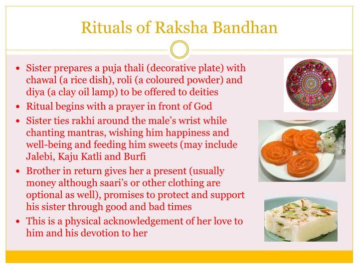 Rituals of