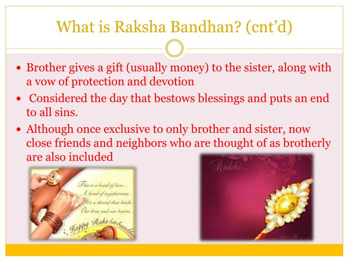 What is raksha bandhan cnt d