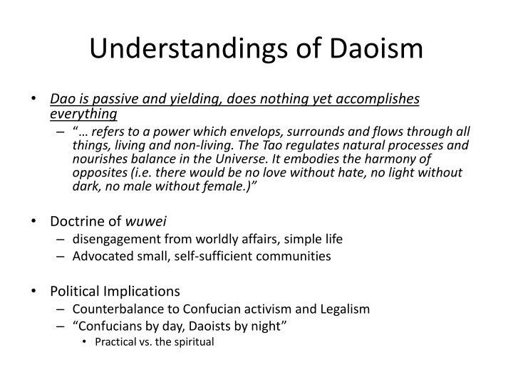 Understandings of Daoism