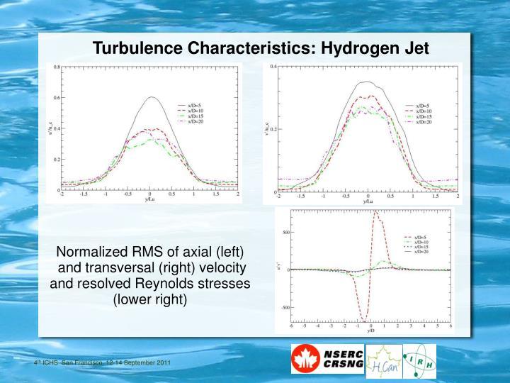 Turbulence Characteristics: Hydrogen Jet
