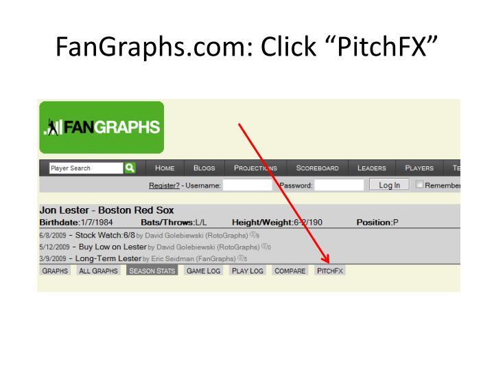 "FanGraphs.com: Click """