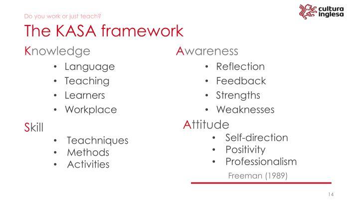The KASA framework