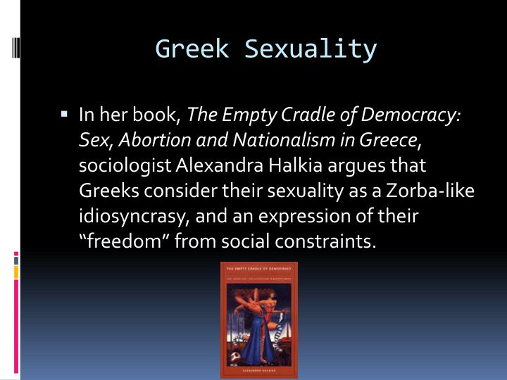 Greek Sexuality