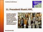 11 precedenti illustri nyc