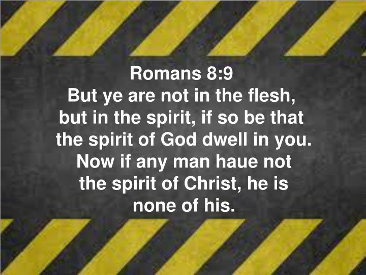 Romans 8:9