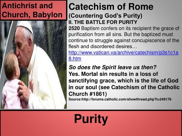 Antichrist and Church, Babylon